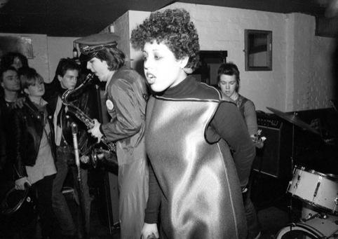 X-Ray Spex, 1977, in Chelsea pub
