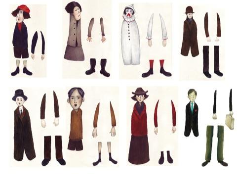 Lowry characters