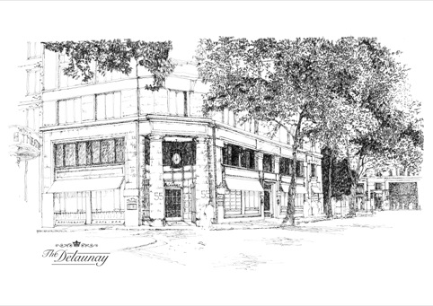 The Delaunay exterior sketch