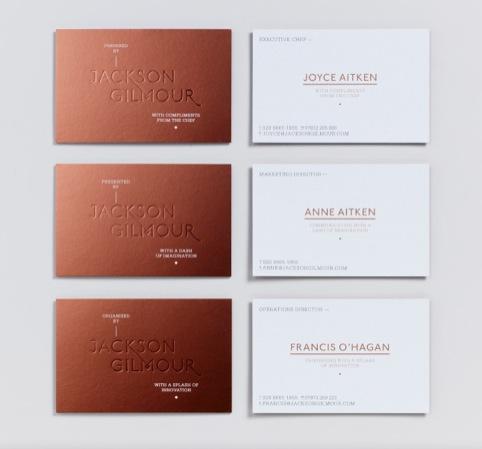 Magpie Studio rebrands catering company Jackson Gilmour | Design