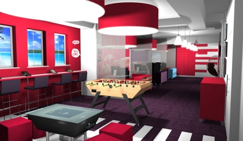 Virgin Holidays: gaming zone