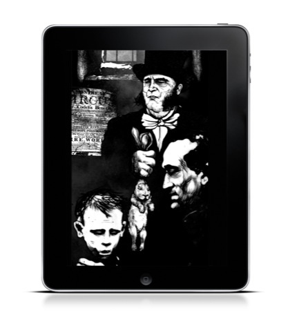 Dickens Dark London app by Brothers and Sisters