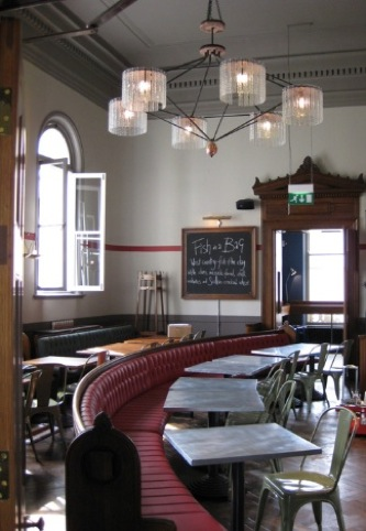 Jamies Italian in Cheltenham, by Stiff and Trevillion