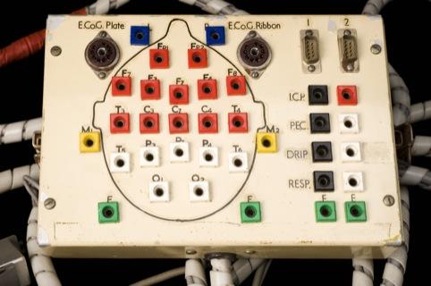 Electrode headboard, 1958