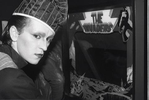 Steve Strange at Hell 1980