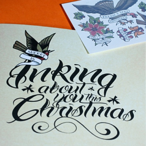 Inking About Christmas by Sherry