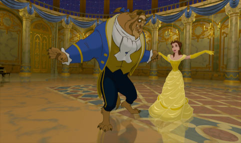 The Beast in Beauty and The Beast