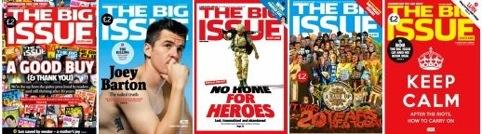 Previous cover designs