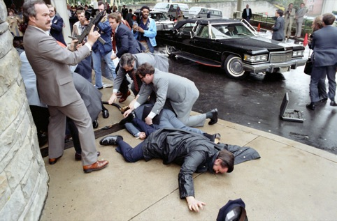 Ronald Regan shooting 1981