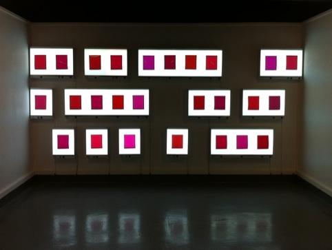 David Birkin,  Twenty Six Shades of Red, 2011