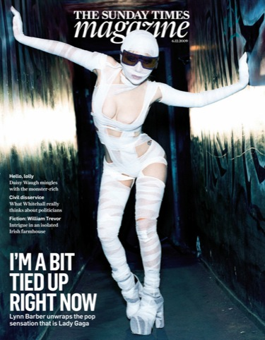 Lady Gaga cover, 06 December 2009