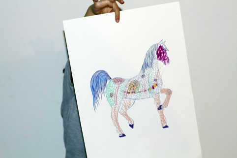 Horse, by Micah Lidberg and Raven