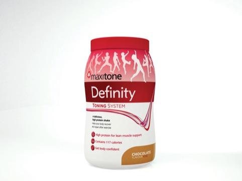 New Maxitone Definity protein shake