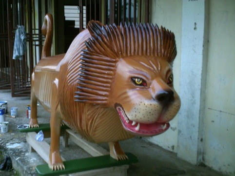 Lion by Paa Joe