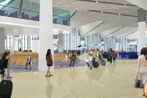 New Pulkovo airport terminal, St Petersburg, Russia