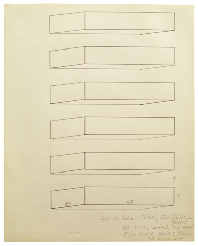 Donald Judd Untitled1965