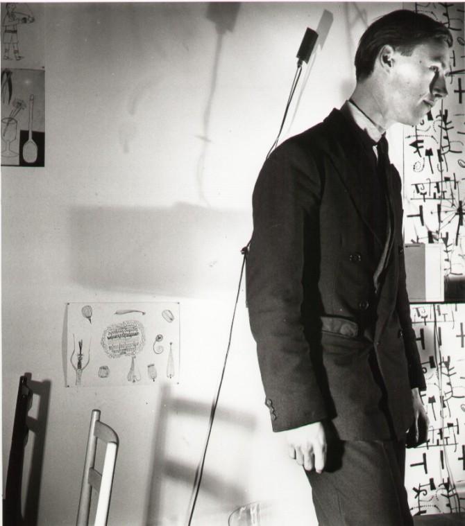 Terence Conran circa 1950