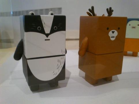 Dentsu's Suwappu toys
