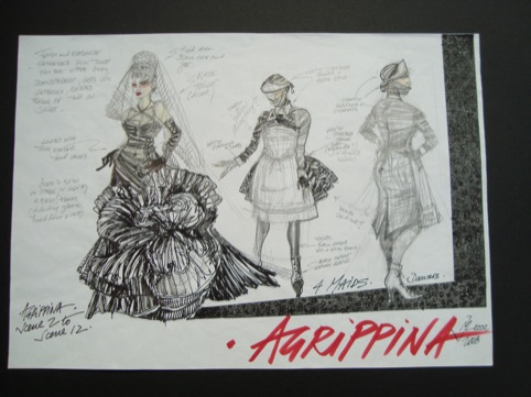 Agrippina Opernhaus Zurich May 2009 costumes by Marie Jeanne Lecca