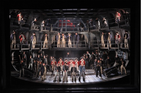 Billy Budd Glyndebourne May 2010 set cosutme designer Chris Oram Alastair Muir