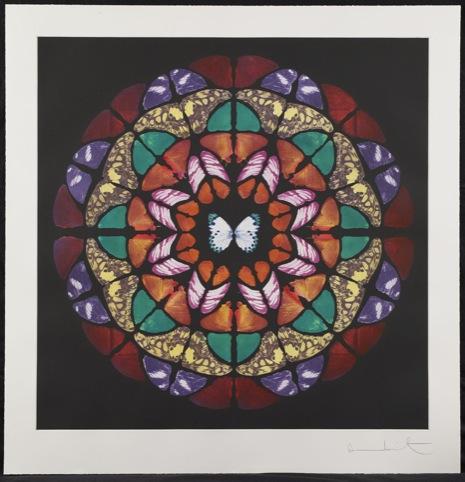 Damien Hirst?Altar from Sanctum 2009