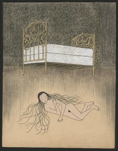 Falling Asleep by Audrey Niffenegger