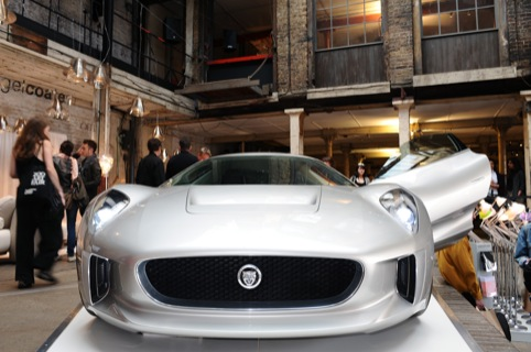 Jaguar at the Farmiloe Building last year