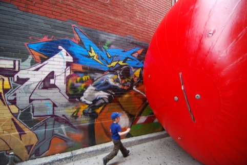 Red Ball in Toronto