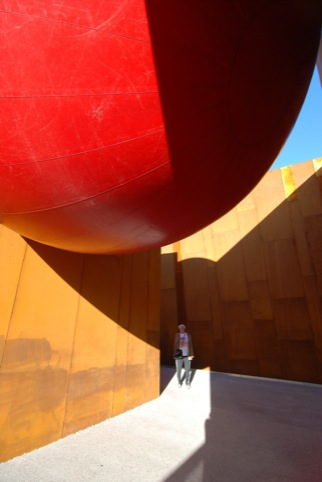Red Ball in Scottsdale