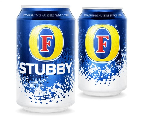 Foster's Stubby can