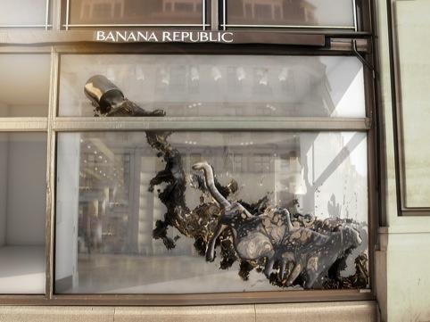Banana Republic, by Ushida Findlay Architects and Visitor Studio
