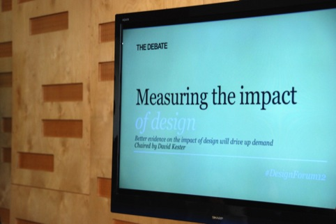 Measuring the impact of design