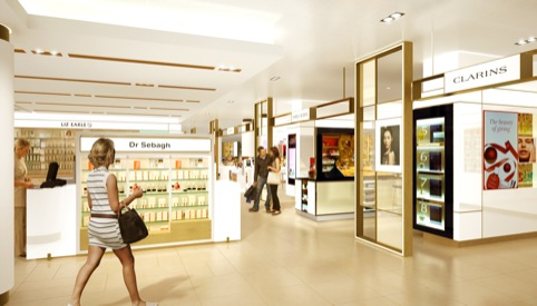 New John Lewis beauty hall by GP Studio
