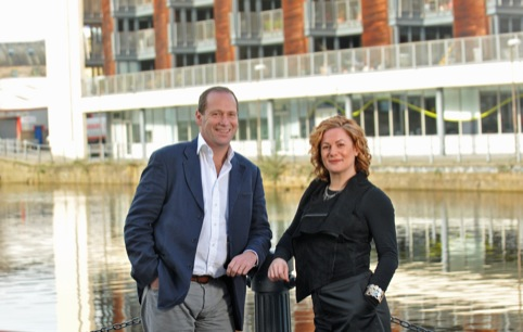 Emperor founding director Steve Kemp and Tsuko founder Susanna Freedman