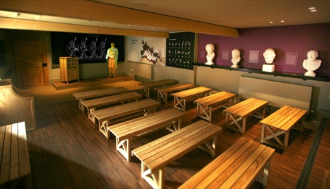 The Roman Education Room classroom