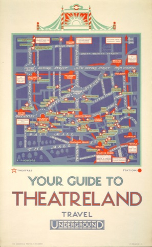 Your Guide to Theatreland by Reginald Percy Gossop 1926