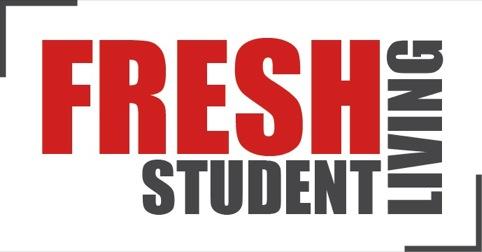 Fresh Student Living identity