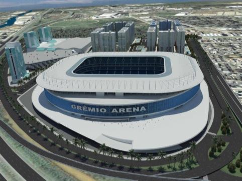 The new Gremio Arena