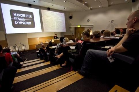 Manchester Design Symposium 2011, organised by Design Initiative