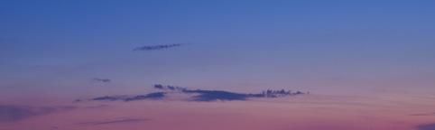 Manhattan evening skyline