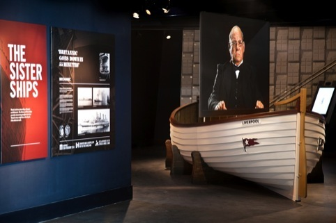 Titanic Experience by Event Communications