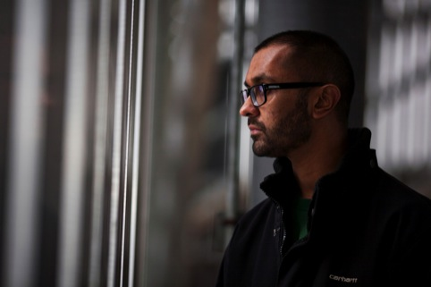 V&A sound artist in residence Jason Singh