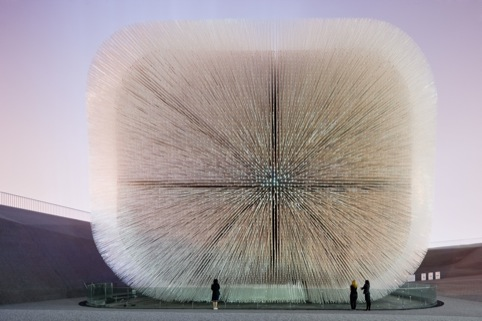 UK Pavilion Seed Cathedral, Shanghai Expo, China 2010