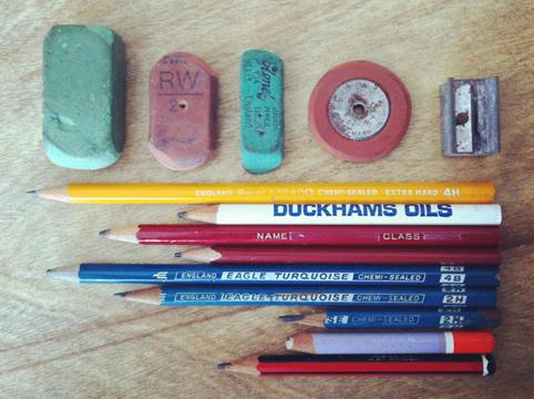 Grandad's Pencils