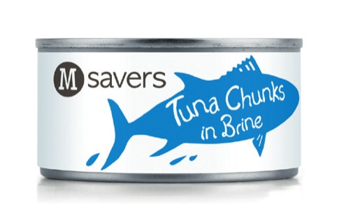 M Savers tuna