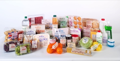Tesco Everyday Value range