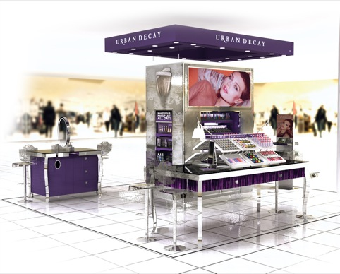 Urban Decay House of Fraser London flagship