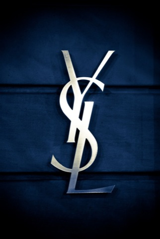 current Yves Saint Laurent logo