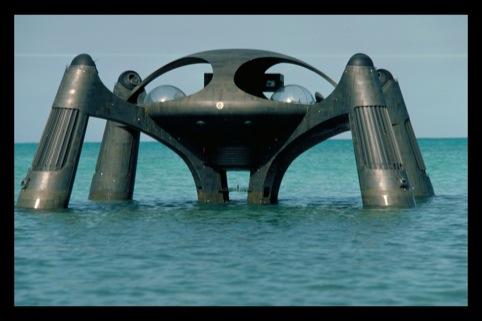 Atlantis is Stromberg's base. A prototype for an underwater city. Copyright 1977 Danjag, LLC and United Artists Corporation
