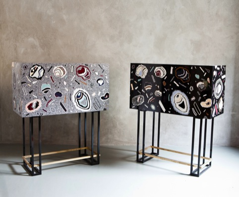 Rock Cabinets by Bethan Laura Wood